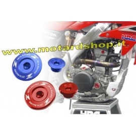 ZETA KIT Tappi Motore YAMAHA YZF 450 06-09 WRF 250 03-14 WRF 450 03-16