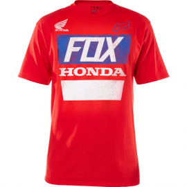 Fox Honda HRC Destressed maglietta rossa