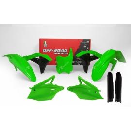 RTECH KIT PLASTICHE KAWASAKI KXF 250 2017 Verde Neon