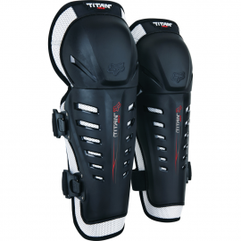 FOX Titan Race Knee Guards Coppia Ginocchiere  Motocross Enduro
