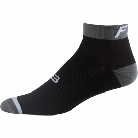 Fox Logo Socks Trail 4'' nero Calza tecnica MTB