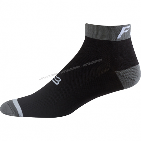 Fox Logo Socks Trail 4'' nero Calza tecnica MTB