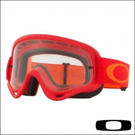 OAKLEY O Frame Rosso Arancione maschera Motocross Mtb Dh