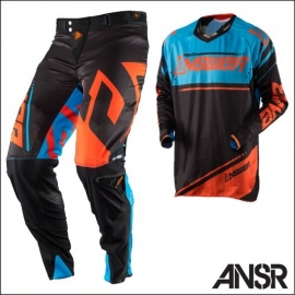 Answer Racing Trinity Blu Nero Completo Motocross 2018