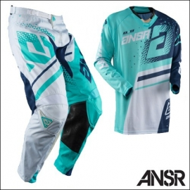 Completo Motocross Answer Elite Teal Navy Enduro Quad