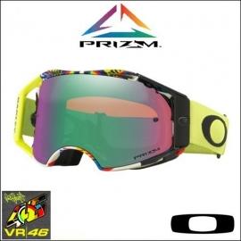 AIRBRAKE™ PRIZM™ VALENTINO ROSSI Replica maschera Motocross Enduro Mtb