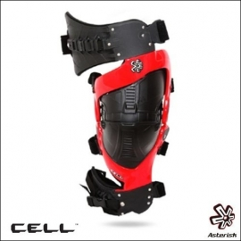 Asterisk Cell Rossa Tutore Ortopedico Knee Brace Motocross Enduro Quad