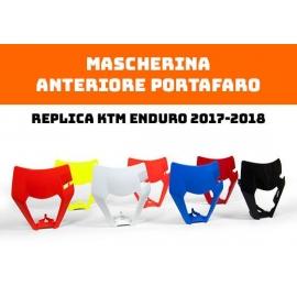 RTECH Mascherina Anteriore Portafaro KTM ENDURO 2017 2018