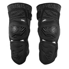 Leatt Enduro Knee Guard nere coppia ginocchiere motocross enduro mtb dh