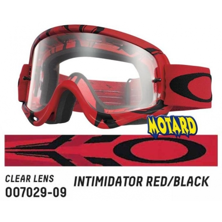 Oakley O Frame INTIMIDATOR RED/BLACK maschera motocross enduro quad