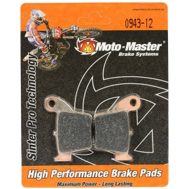 MOTO MASTER Pastiglie freno posteriore Honda CR 125 e CR 250 dal 2002 al 2007
