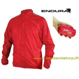 ENDURA PAKAJAK RED antipioggia Mountainbike