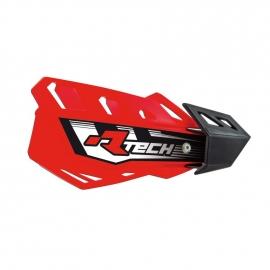 RTECH PARAMANI FLX Rosso MOTOCROSS ENDURO + kit montaggio