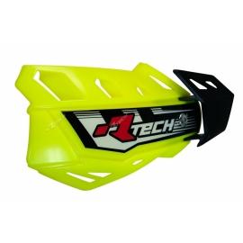 RTECH PARAMANI FLX Giallo Fluo MOTOCROSS ENDURO + kit montaggio