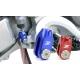 ZETA Regolatore Freno Posteriore Honda CR e CRF colore blu
