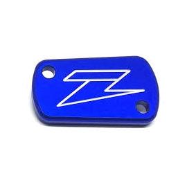 ZETA COPERCHIO POMPA FRENO Posteriore Kawasaki Kx e KXF colore Blu