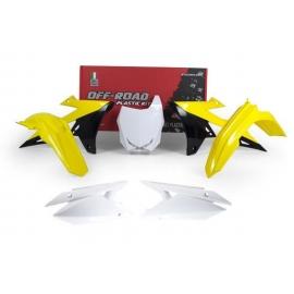 Kit Plastiche Suzuki RMZ 450 2018 Rtech Colorazione Originale