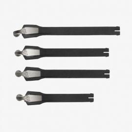 Ricambi stivale FOX INSTINCT kit cinturino di chiusura Nero Strap Kit