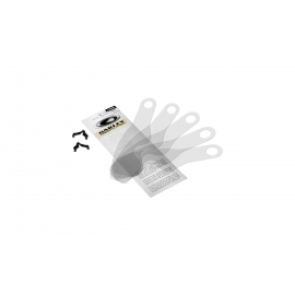 Lenti a Strappo Oakley modello L Frame Tear Off confezione da 25 lenti Standard