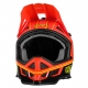 O'NEAL Casco CHARGER rosso neon Downhill Enduro Mtb Dh
