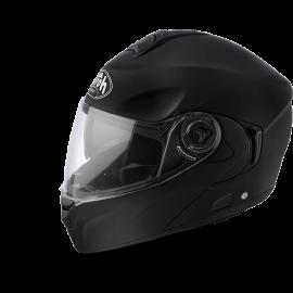 Casco Modulare Airoh Rides RD11 nero opaco doppia visiera moto strada