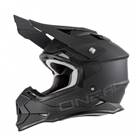 O'neal Casco 2 Series RL FLAT nero opaco casco motocross enduro quad