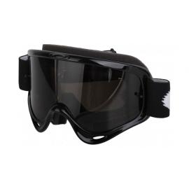 Maschera Motocross OAKLEY O Frame MX Jet Black lente fumé Enduro Mtb Dh