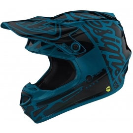 Casco Motocross TROY LEE DESIGNS SE4 FACTORY ocean Enduro Quad