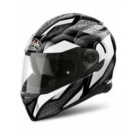 Casco Integrale Airoh Movement Steel white gloss moto strada