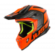 Casco Motocross Just1 J38 BLADE ORANGE BLACK Enduro Quad Supermotard