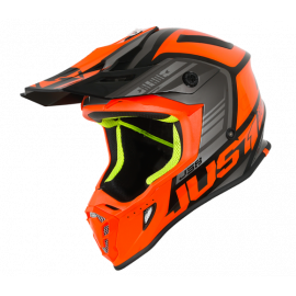 Casco Motocross Just 1 J38 BLADE ORANGE BLACK Enduro Quad Supermotard