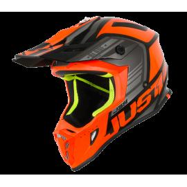 Casco Motocross Just1 J38 BLADE ORANGE BLACK Enduro Quad Supermotard
