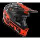 Casco Motocross Just1 J32 Pro Swat Camo Fluo Orange Gloss Enduro Quad Supermotard
