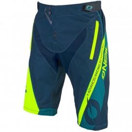 O'NEAL ELEMENT FR Pantaloncino verde giallo fluo Mtb Enduro Dh
