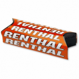 Renthal Fat Bar Pads arancio Protezione manubrio 28mm