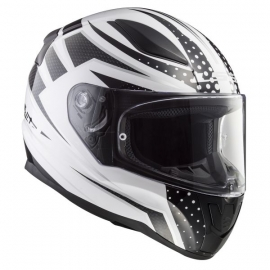 Casco Economico integrale LS2 FF353 Rapid Carbo Race Moto Scooter