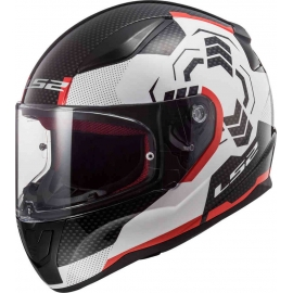 Casco Economico integrale LS2 FF353 Rapid Poppies Moto Scooter