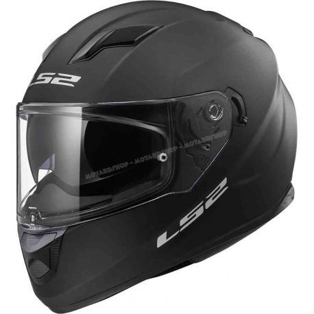 LS2 FF320 Casco integrale Stream Evo Black Matt scooter