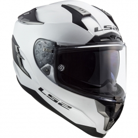 Casco integrale LS2 FF327 CHALLENGER Solid White Moto Scooter