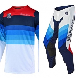 Completo Motocross Troy Lee Designs SE PRO MIRAGE 2019 white enduro quad