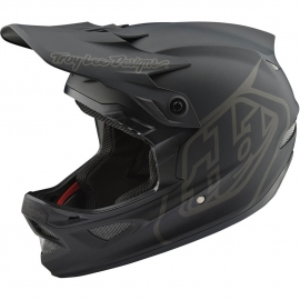 Casco Enduro Downhill Mtb D3 FIBERLITE TROY LEE DESIGNS mono black