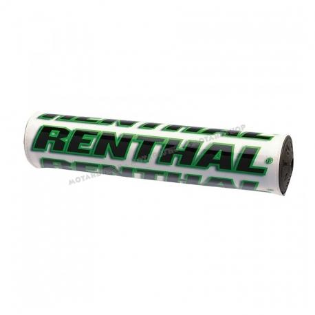 Renthal Bar Pads SX Bianco verde Protezione manubrio