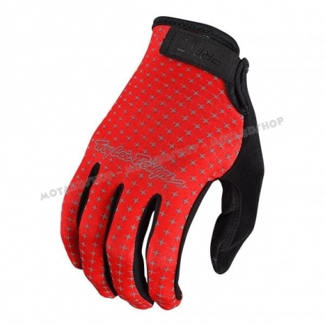 Guanto MTB TROY LEE DESIGNS SPRINT rosso Enduro DH
