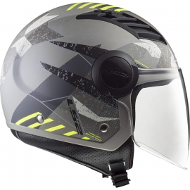 LS2 OF562 AIRFLOW L CASCO JET CAMO TITANIUM YELLOW