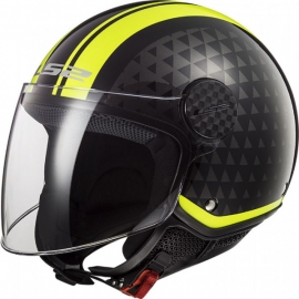 Casco jet LS2 OF558 Sphere LUX CRUSH doppia visiera Moto Scooter