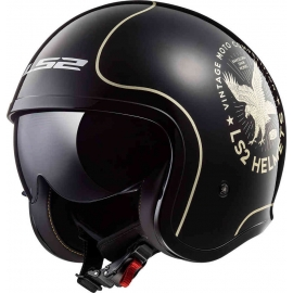 Casco jet LS2 OF599 SPITFIRE FLIER Moto Scooter