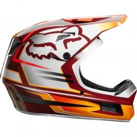 FOX RAMPAGE COMP RENO cardinal casco mtb dh enduro