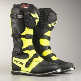 TCX X-BLAST black yellow stivali motocross enduro quad