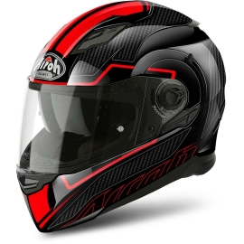 Casco Integrale Airoh Movement FASTER red gloss moto strada
