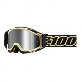 100% Racecraft plus (+) Jiva lente specchiata injected flash  maschera Motocross Enduro Mtb